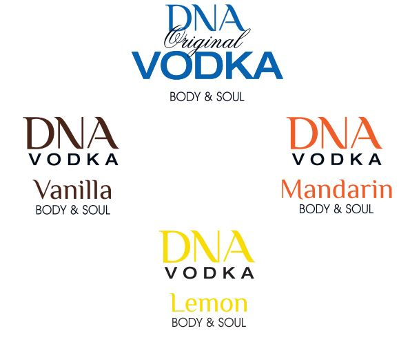 DNA Vodka Tasting Set
